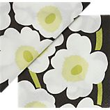 "Set of 20 Marimekko Unikko White Paper 4.75"" Napkins"