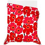 Marimekko Unikko Red Bed Linens