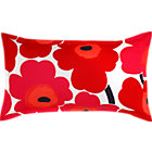 Marimekko Unikko King Pillow Sham. Red.