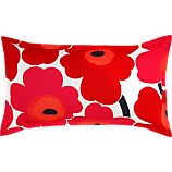Marimekko Unikko Red King Pillow Sham