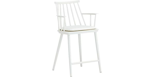 Vienna Black Counter Stool In Bar Stools Crate And Barrel