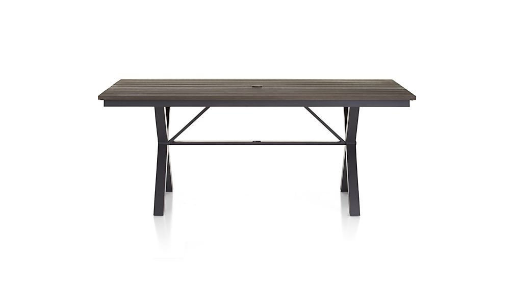 Union 72 Quot Trestle Dining Table In Union Dining Crate And