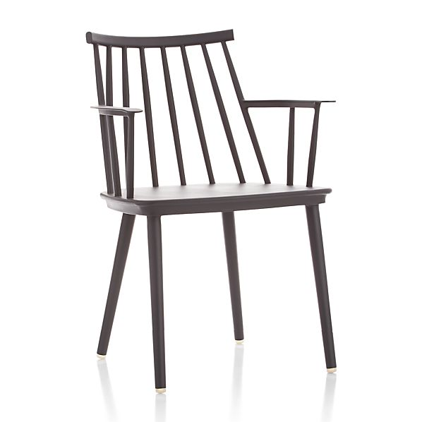 Union Charcoal Dining Arm Chair
