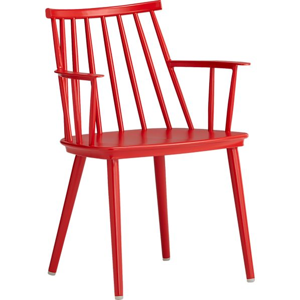 Union Red Dining Arm Chair in Union Dining Crate and Barrel : union red dining arm chair from www.crateandbarrel.com size 598 x 598 jpeg 32kB