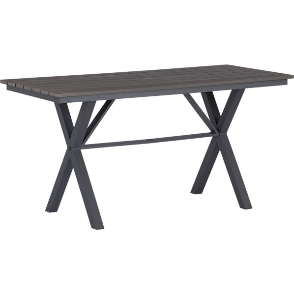 "Union 72"" Trestle High Dining Table"