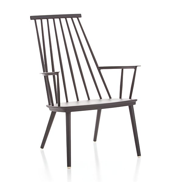 Union Charcoal Lounge Chair