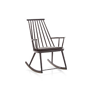 Union Charcoal Rocking Chair with Sunbrella ® Cushion