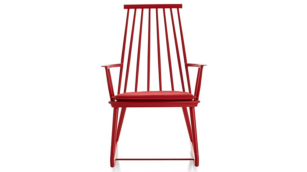 Union Red Rocking Chair in Union Lounge