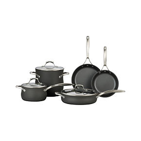 Calphalon Unison Slide &amp; Sear Nonstick 8-Piece Cookware Set with Double Bonus