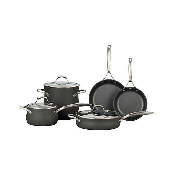 Calphalon Contemporary ™ Unison ™ Slide & Sear Nonstick 8-Piece Cookware Set with Double Bonus