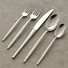 Uptown 20-Piece Flatware Set: four 5-piece place settings.