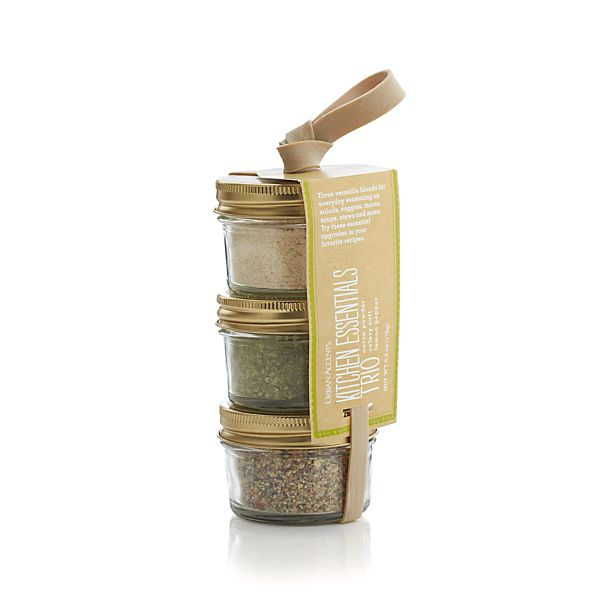 Urban Accents Kitchen Spice Trio