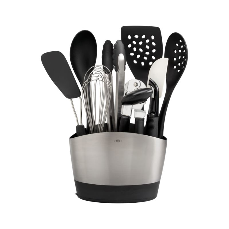 10-Piece OXO ® Crock with Tools Set
