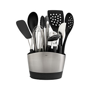 10-Piece OXO Crock with Tools Set