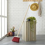 Red Utility Broom