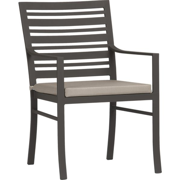 Valencia Dining Chair with Sunbrella® Stone Cushion