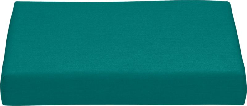 Add extra comfort to Valencia lounge chair with fade-, water- and mildew-resistant Sunbrella® acrylic cushion in deep harbor blue. Fabric tab fasteners hold cushion in place.<br /><br /><NEWTAG/><ul><li>Fade- and mildew-resistant Sunbrella acrylic</li><li>Polyurethane foam cushion fill</li><li>Fabric tab fasteners</li><li>Spot clean</li><li>Made in USA</li></ul>