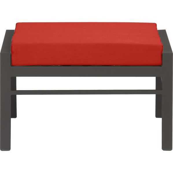 Valencia Ottoman with Sunbrella® Caliente Cushion
