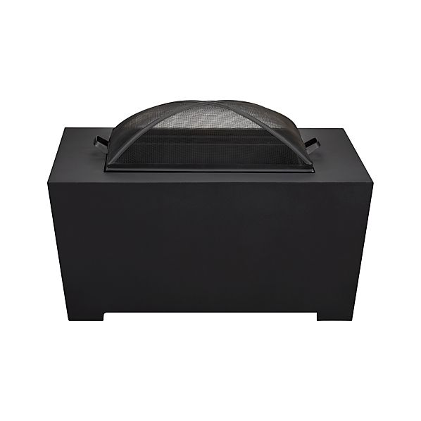 Vallarta Firepit with Black Cover