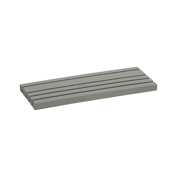 Grey Vanity Tray