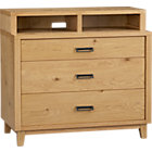 Varick Three-Drawer Chest.