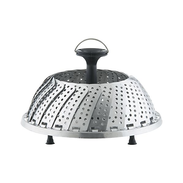 Vegetable Steamer with Feet in Cooking Utensils | Crate and Barrel