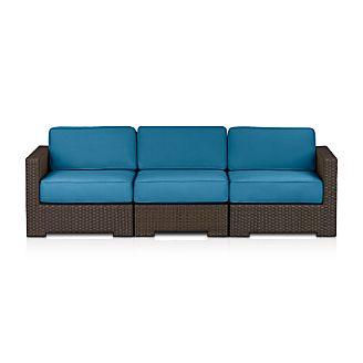 Ventura 3-Piece Sectional with Sunbrella ® Cushions
