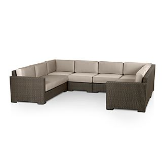Ventura 6-Piece Sectional with Sunbrella ® Cushions