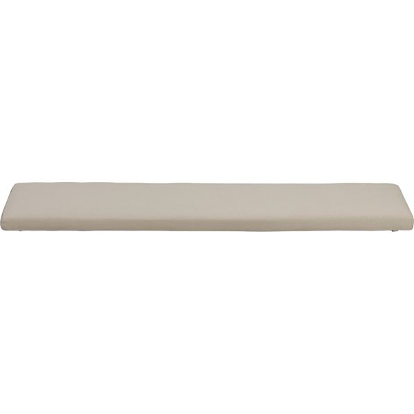 Ventura Sunbrella® Stone Dining Bench Cushion