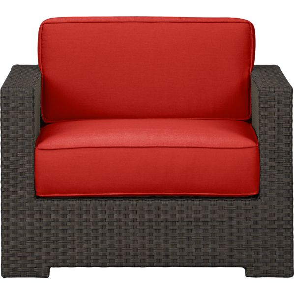 Ventura Lounge Chair with Sunbrella® Caliente Cushions