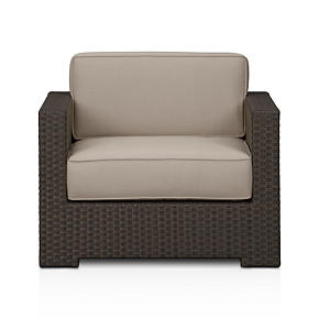 Ventura Lounge Chair with Sunbrella Stone Cushions