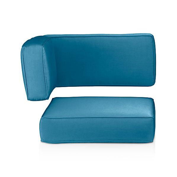 Ventura Sunbrella ® Turkish Tile Modular Corner Cushions