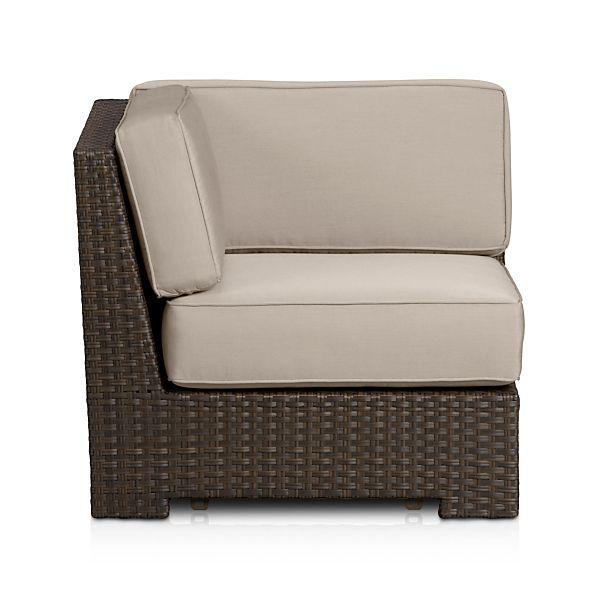 Ventura Modular Corner with Sunbrella ® Stone Cushions