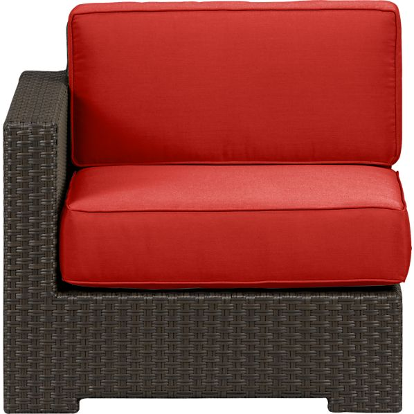 Ventura Modular Left Arm Chair with Sunbrella® Caliente Cushions