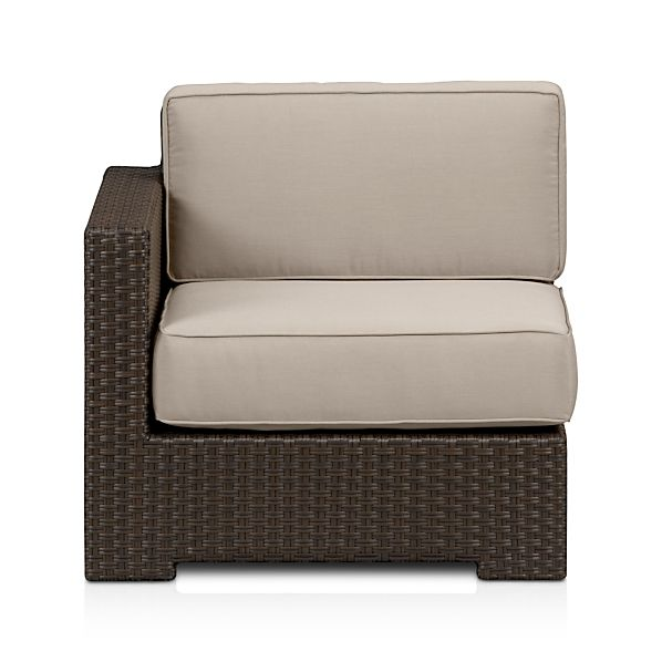 Ventura Modular Left Arm Chair and Sunbrella ® Cushions