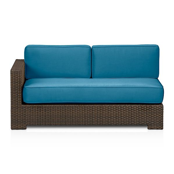 Ventura Modular Left Arm Loveseat and Sunbrella ® Cushions