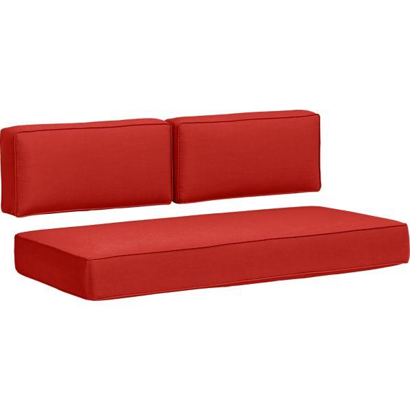 Sunbrella ® Caliente Modular Loveseat Cushions