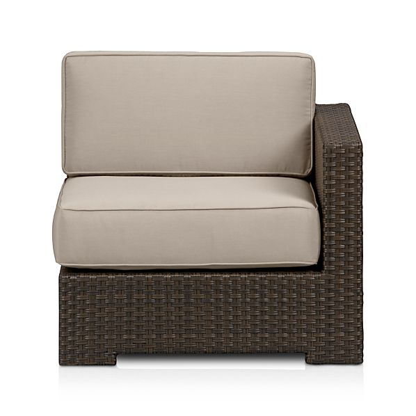 Ventura Modular Right Arm Chair with Sunbrella ® Stone Cushions