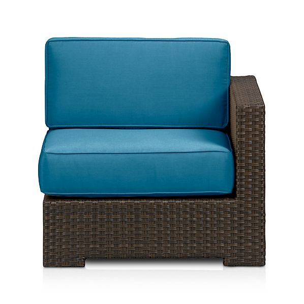 Ventura Modular Right Arm Chair with Sunbrella ® Turkish Tile Cushions