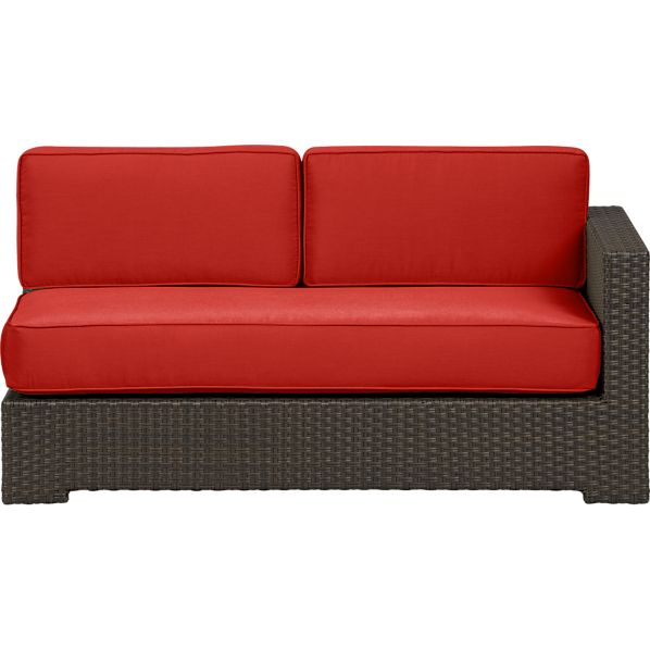 Ventura Modular Right Arm Loveseat with Sunbrella® Caliente Cushions
