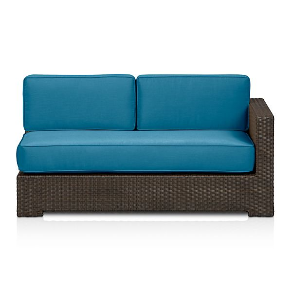 Ventura Modular Right Arm Loveseat with Sunbrella® Turkish Tile Cushions