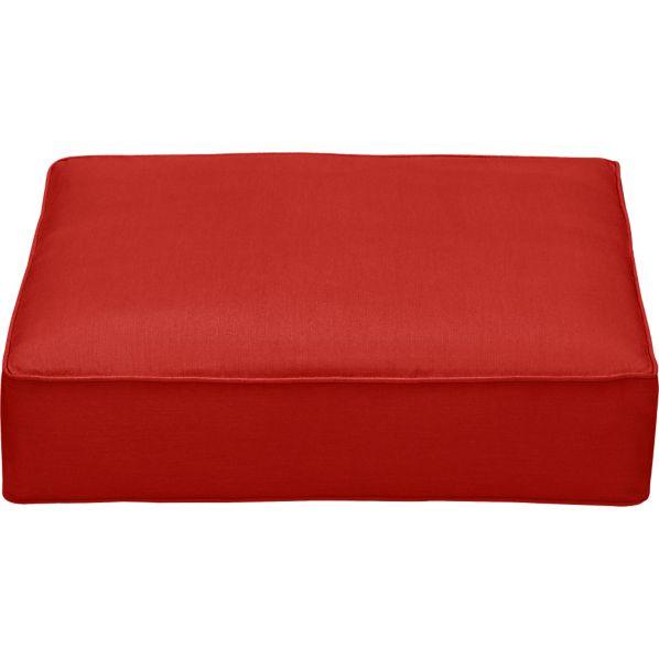 Sunbrella® Caliente Modular Ottoman Cushion