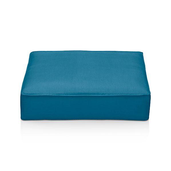 Ventura Sunbrella ® Turkish Tile Modular Ottoman Cushion