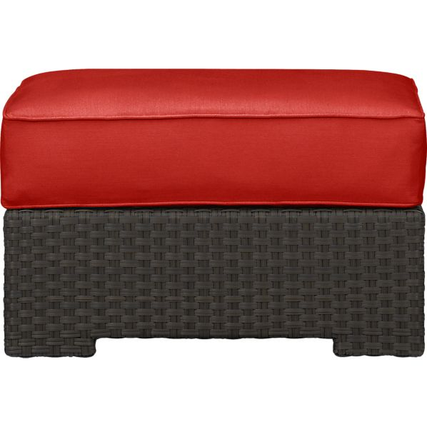 Ventura Ottoman with Sunbrella® Caliente Cushion
