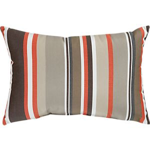 Outdoor Pillows: Orange: Pillow | Crate and Barrel