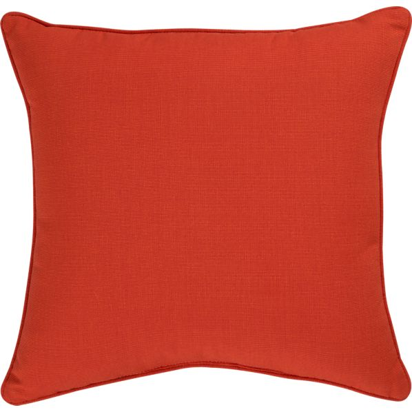 "Sunbrella® Caliente 20"" Sq. Outdoor Pillow"