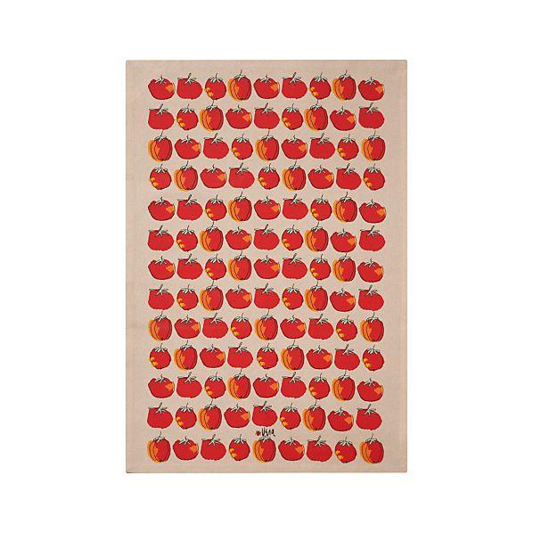 Vera Neumann Graphic Tomato Dishtowel
