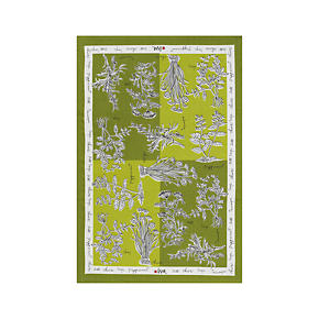 Vera Neumann Herbs Dishtowel
