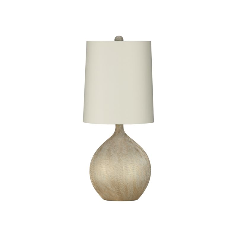 vera table lamp crate and barrel. Black Bedroom Furniture Sets. Home Design Ideas
