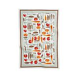 Vera Neumann Vegetable Garden Dishtowel